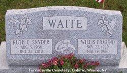 Ruth Evelyn <i>Snyder</i> Waite
