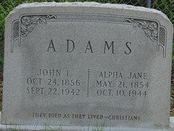 John T Adams