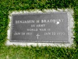 Benjamin H Bradbury