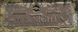 Arthur Raymond Ray McKnight