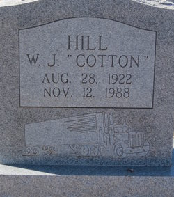 Willie James Cotton Hill