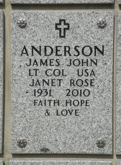 Janet Rose Anderson