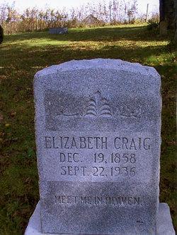 Elizabeth J <i>Morehead</i> Craig