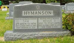 Bessie D <i>Kesner</i> Hymanson