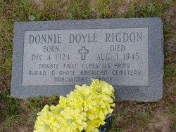 Donnie Doyle Rigdon
