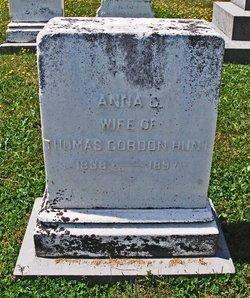 Anna G <i>Bourne</i> Hunt