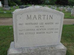 Estelle Bertrand <i>Martin</i> Allen