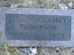Lillian May <i>Clasbey</i> Thompson