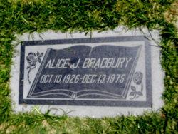 Alice J. Bradbury