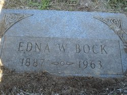 Edna W Bock