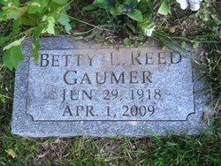 Betty L <i>Reed</i> Gaumer