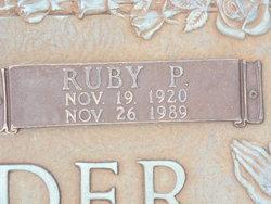 Ruby <i>Powell</i> Alexander