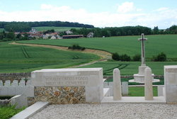 Bouilly Cross Roads Military Cemetery