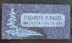 Elizabeth <i>Petersdorf</i> Bailey