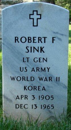 Gen Robert Fredrick Sink