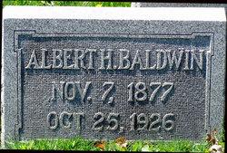 Albert Haller Baldwin