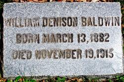 William Denison Baldwin