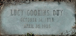 Lucy Lee <i>Gookins</i> Duy