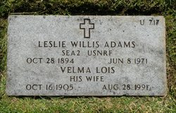 Leslie Willis Adams