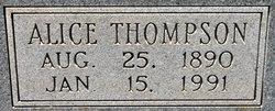 Alice <i>Thompson</i> Sandel