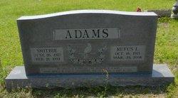 Smithie Lee <i>Faulk</i> Adams