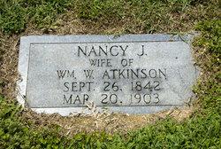 Nancy Jane <i>Johnson</i> Atkinson