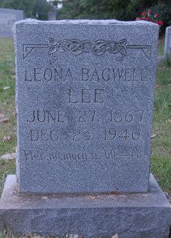 Leona M. (Lonnie) <i>Bagwell</i> Lee