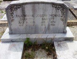 Leila <i>Horne</i> Barrett
