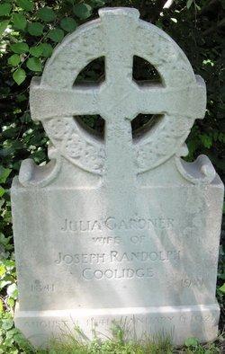 Julia <i>Gardner</i> Coolidge