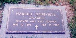 Harriet Genevieve <i>Button</i> Grabill