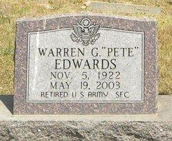 Warren G PETE Edwards