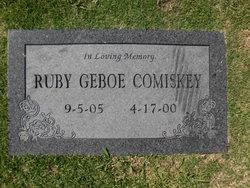 Ruby Geboe <i>Frank</i> Comiskey