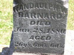 Randolph W Barnard