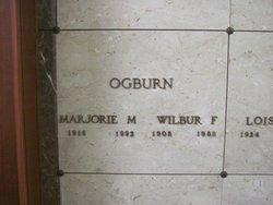 Marjorie Mary <i>Reddy</i> Ogburn