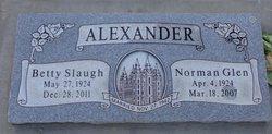 Betty <i>Slaugh</i> Alexander