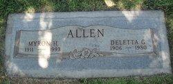 Deletta G Allen