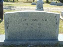 Jonnie <i>Hanna</i> Barr