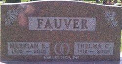 Merrian Edgar Fauver