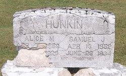 Alice Melissa <i>Walker</i> Hunkin