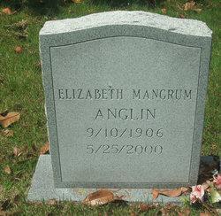 Mary Elizabeth <i>Mangrum</i> Anglin