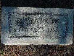 Alice M. Bake
