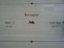 Jessie Mae <i>Horton</i> Barrington