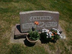 Lorine Frances <i>Albertson</i> Emberton
