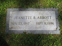 Jeanette <i>Bryant</i> Abbott