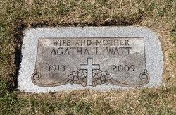 Agatha Lorraine Ag <i>Gilboy</i> Watt