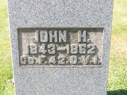 Pvt John H Albright