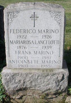 Antoinette Anna <i>Apolito</i> Marino