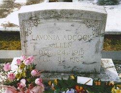 Lavonia L. <i>Adcock</i> Allen
