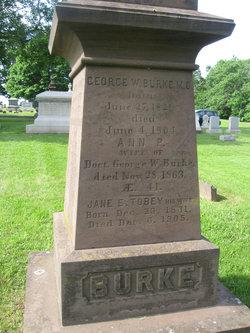 Jane E <i>Tobey</i> Burke