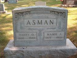 Mamie <i>Keller</i> Asman